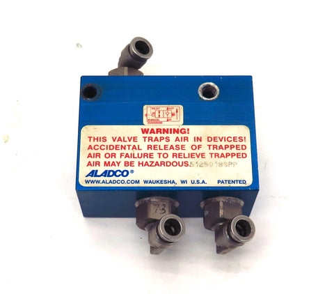 "Aladco Check Valve 512501BSPP 1/4"" Connection"