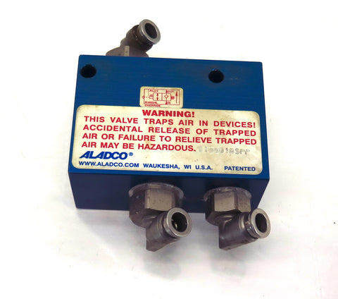 "Check Valve Aladco  513801BSPP 1/4"" Connection"