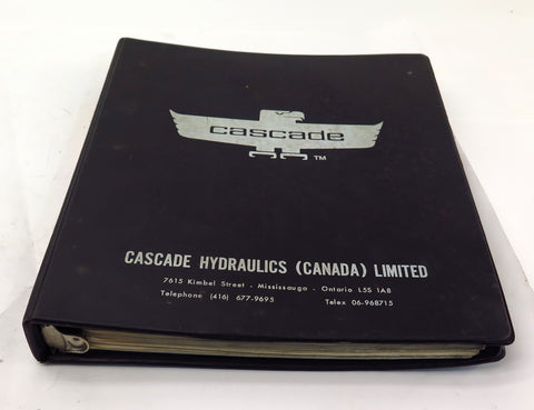 Cascade D Series Carton Clamps Service Manual 670487 R-2