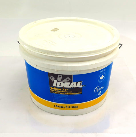 IDEAL Yellow 77 Wire Pulling Lubricant 31-351 1 Gallon (3.8L)