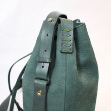 Load image into Gallery viewer, Bucket Bag Mini Dark Green
