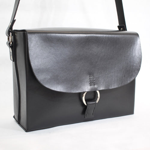 Boxy Bag Black - Made to order