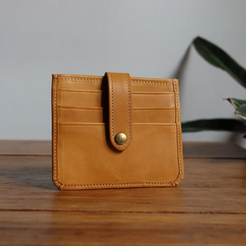 Card Wallet Tan