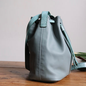 Bucket Bag Mini Grey Icy Mint