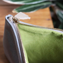 Load image into Gallery viewer, Pochette Silver Green
