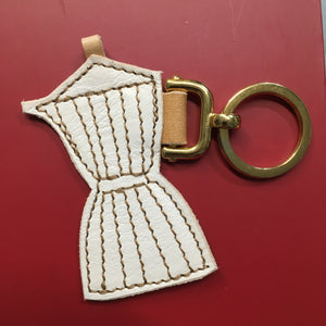 Moka Coffee Maker Keychain