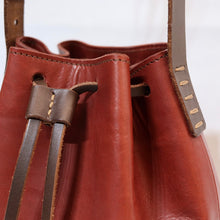 Load image into Gallery viewer, Bucket Bag Mini Red-Brown