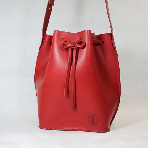 Bucket Bag Mini Red
