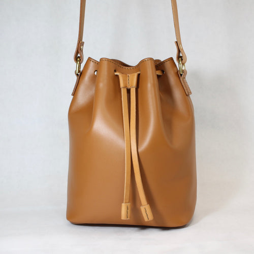 Bucket Bag Mini Tan