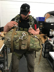 Recon parachute bag