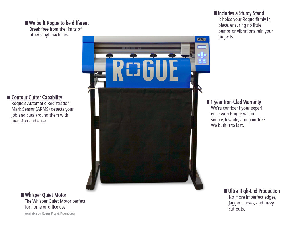 Vinyl Express Rogue Cutter Series