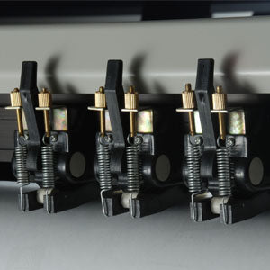 Tension-adjustable pinch rollers