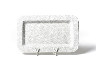Mini entertaining rectangular platter - Happy Everything!