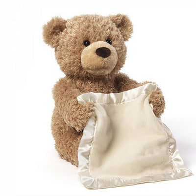 Peek a Boo Teddy Bear Play Hide And Seek - Yosif Store