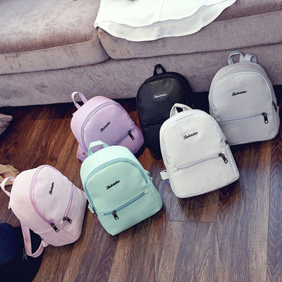 Girls and Women Leather Backpack 2019 - Yosif Store