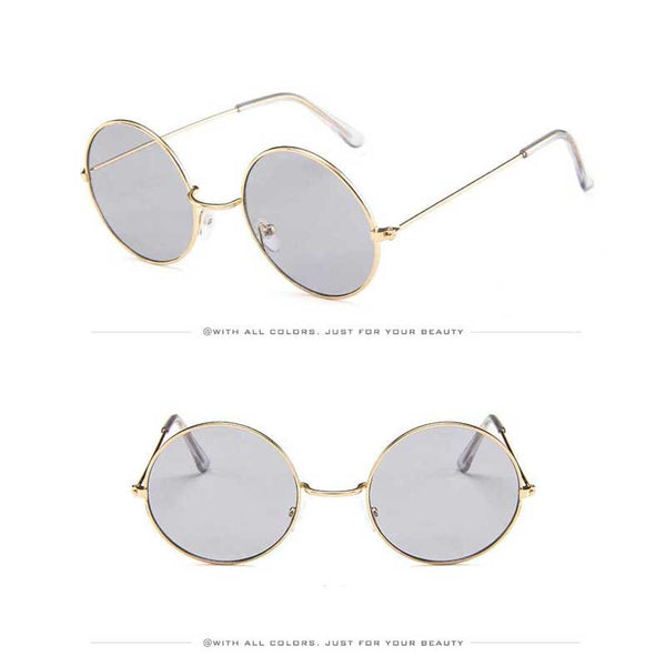 Circle Vintage Sunglasses for Women 2019 - Yosif Store