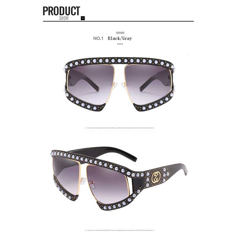 Luxury Pearl Sunglasses for Ladies 2019 - Yosif Store