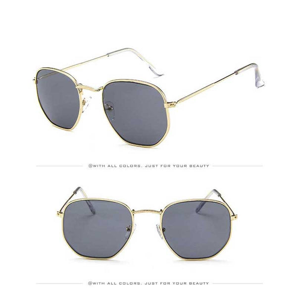 Vintage Polygon Sunglasses for Women and Men 2019 - Yosif Store