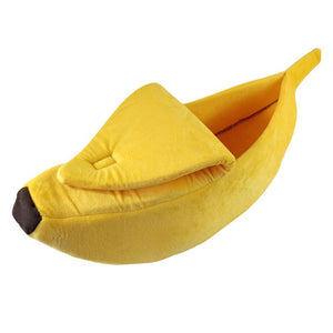 Cats and Dogs Banana Shape Sofa and Bed House - Yosif Store