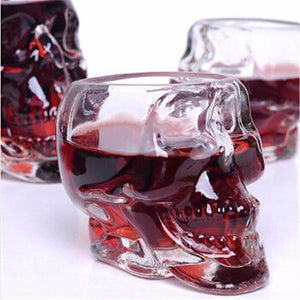Creative Crystal Skull Wine Glass - Yosif Store