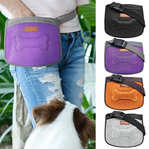 Pet Treat Bag Training Pouch 🐶 🍃
