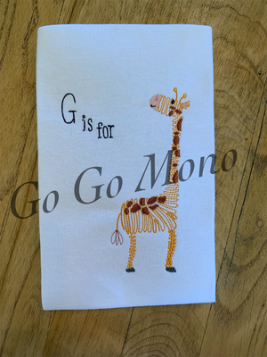 G is for Giraffe Shirt and Bloomer Set