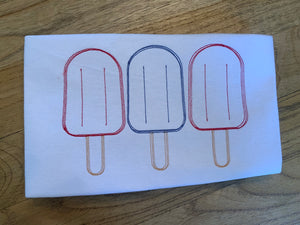 Patriotic Popsicles One Piece