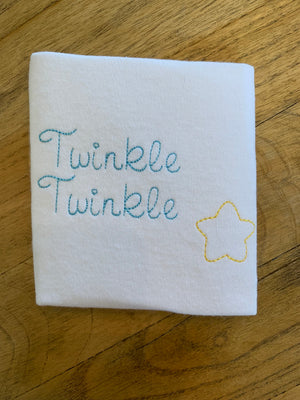 Twinkle Twinkle Little Star Shirt and Bloomer Set