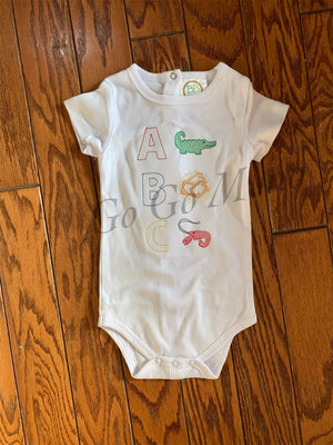 Louisiana ABC Baby One Piece Suit