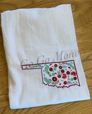 Oklahoma Kitchen Towel