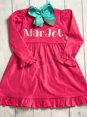 Applique Name Dress