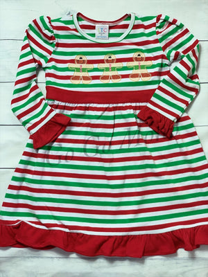 Christmas Gingerbread Man Dress