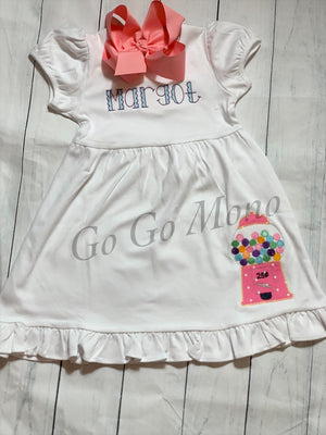 Gumball Applique Dress