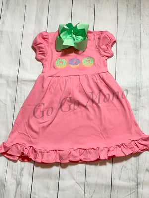 Donut Applique Dress