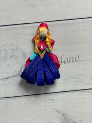 Princess Anna Ribbon Figure