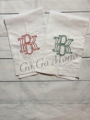 Interlocking Monogram Towel