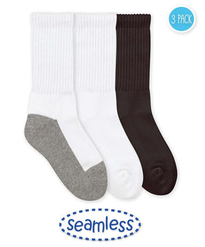 Seamless Sport Crew Sock 3 Pack