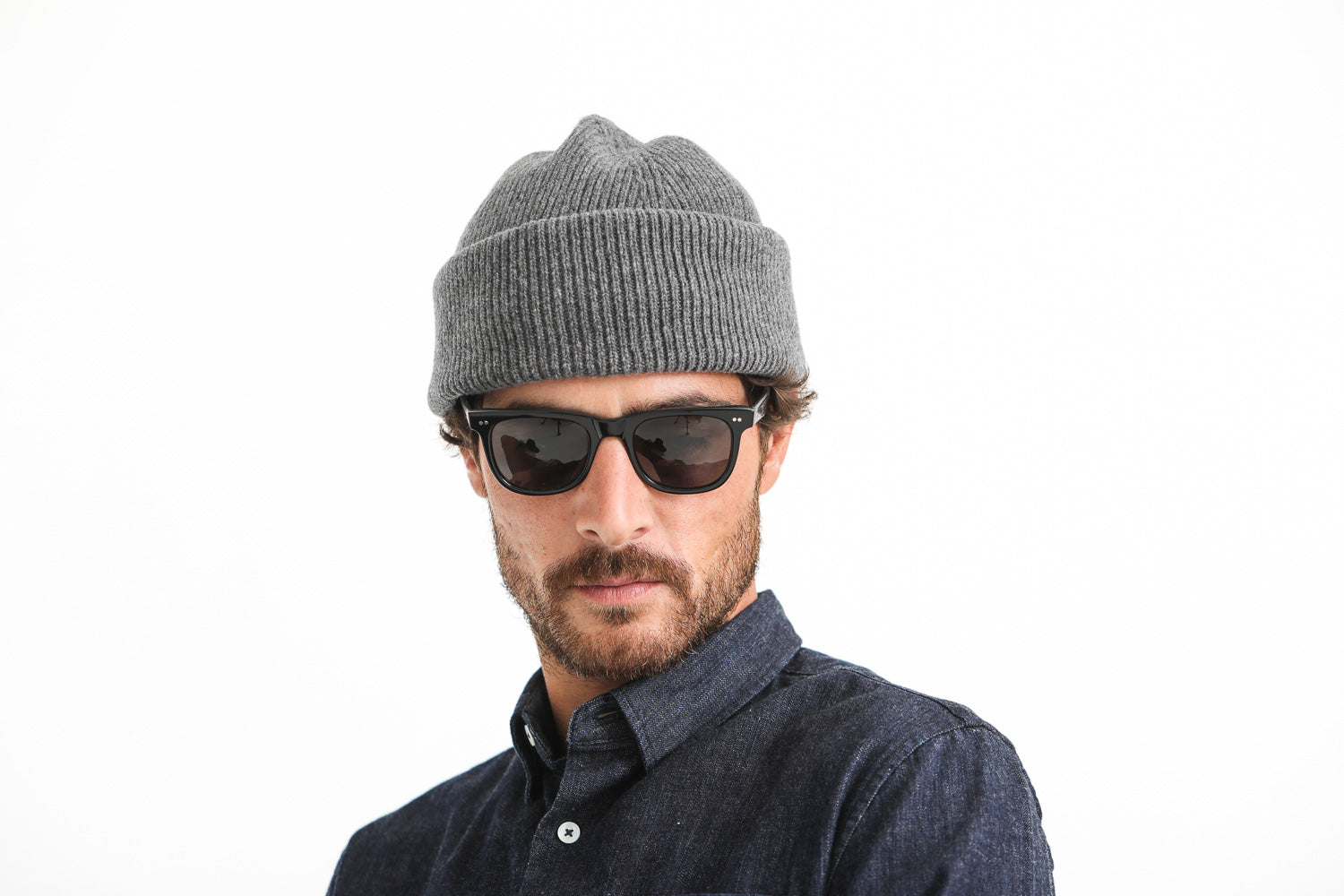 Lambswool Beanie Gris