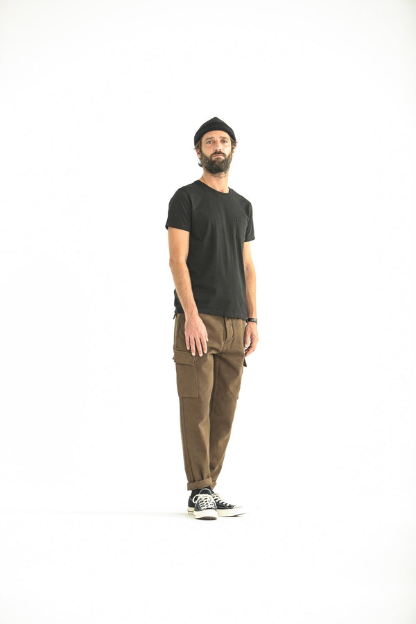 Cargo Pants Dyed Tabac