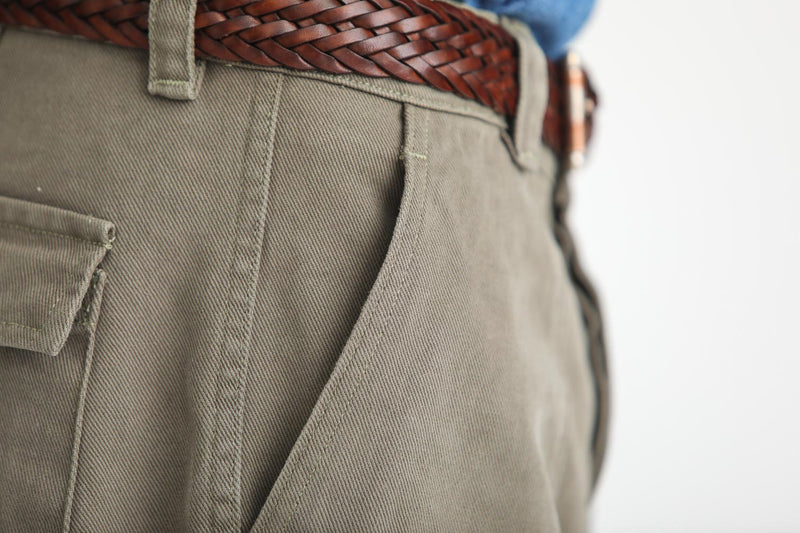 Fatigue Pants Twill Khaki