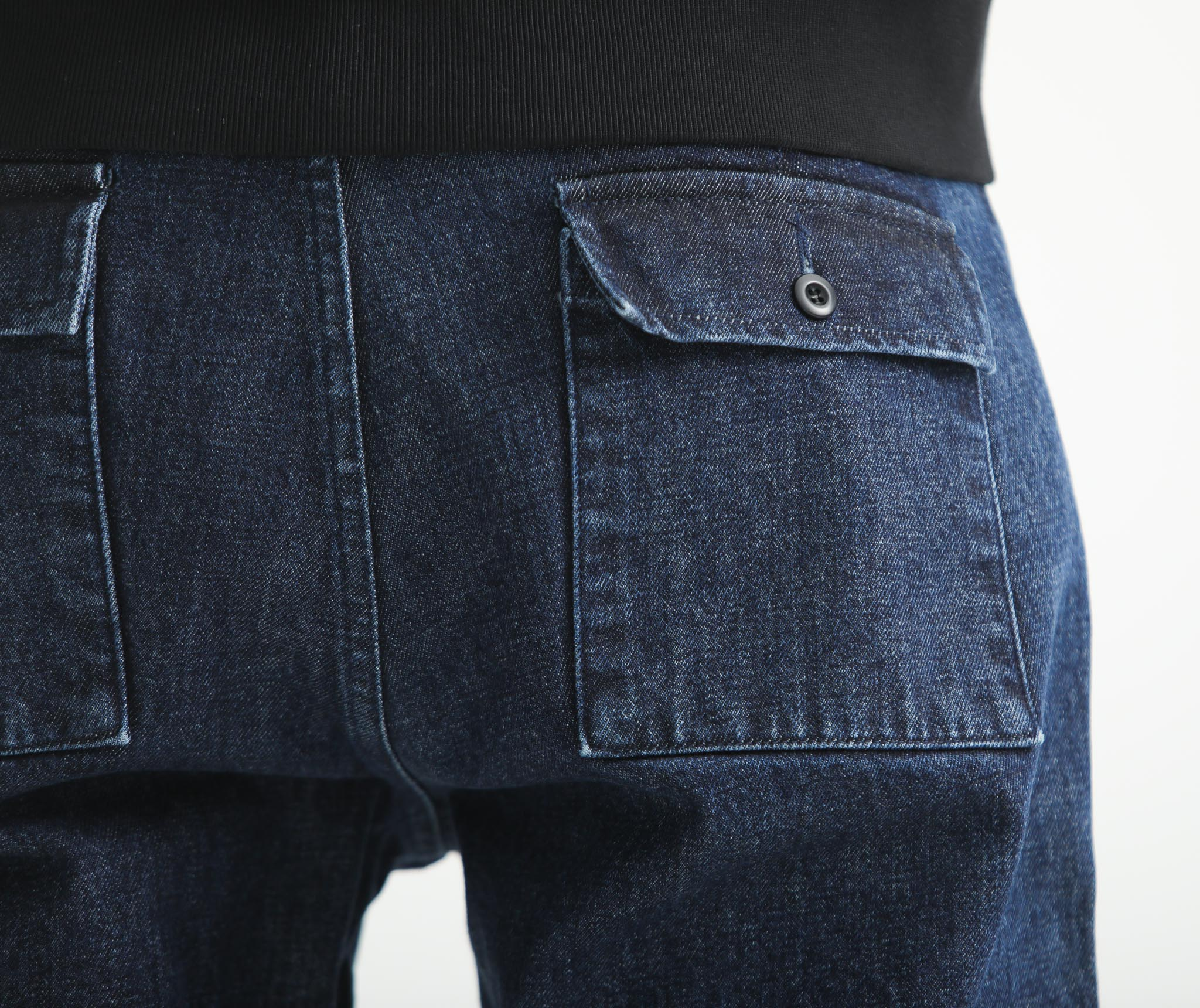 Fatigue Pants Denim Indigo