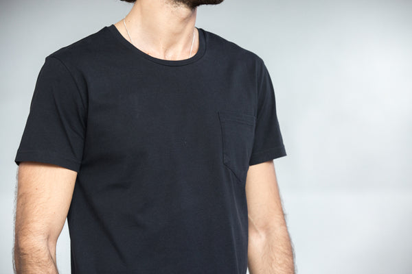 Tee-shirt Pocket Noir