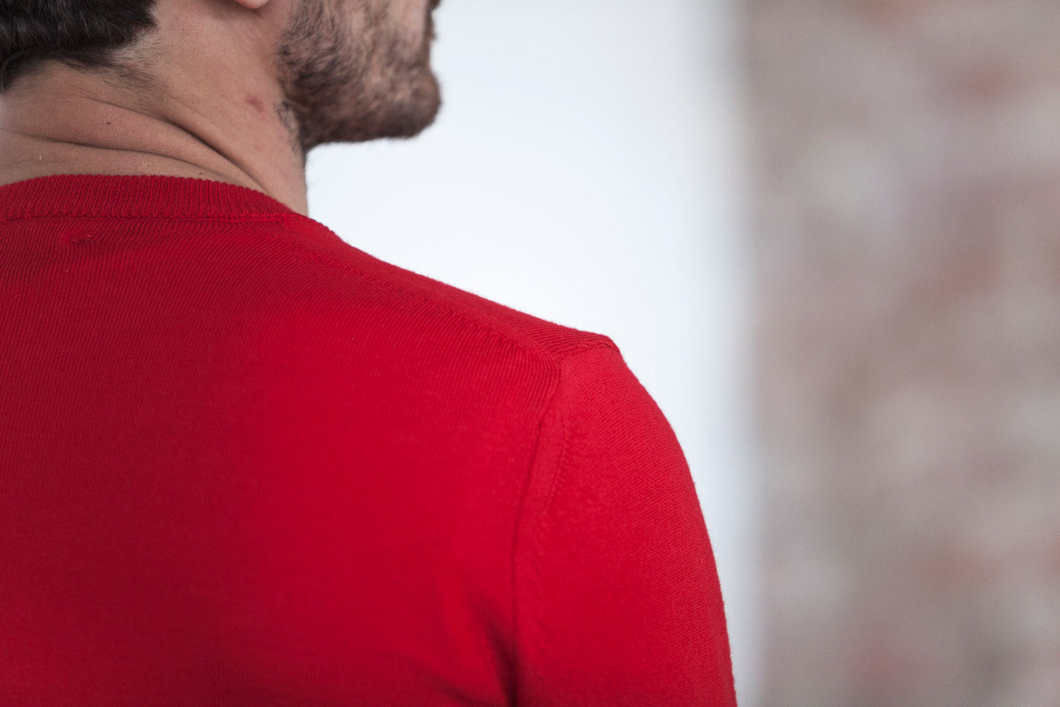 Pull Mérinos Ideal Rouge
