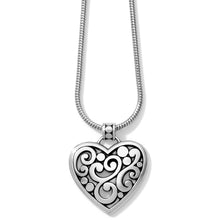 Load image into Gallery viewer, Contempo Heart Necklace
