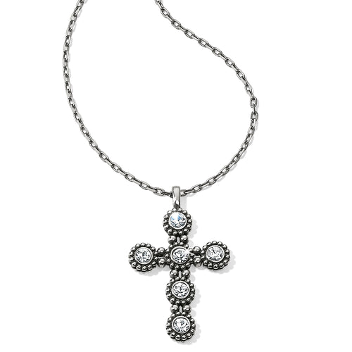 Twinkle Convertible Cross Necklace