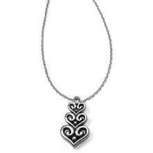Load image into Gallery viewer, Alcazar Heart Trio Short Necklace