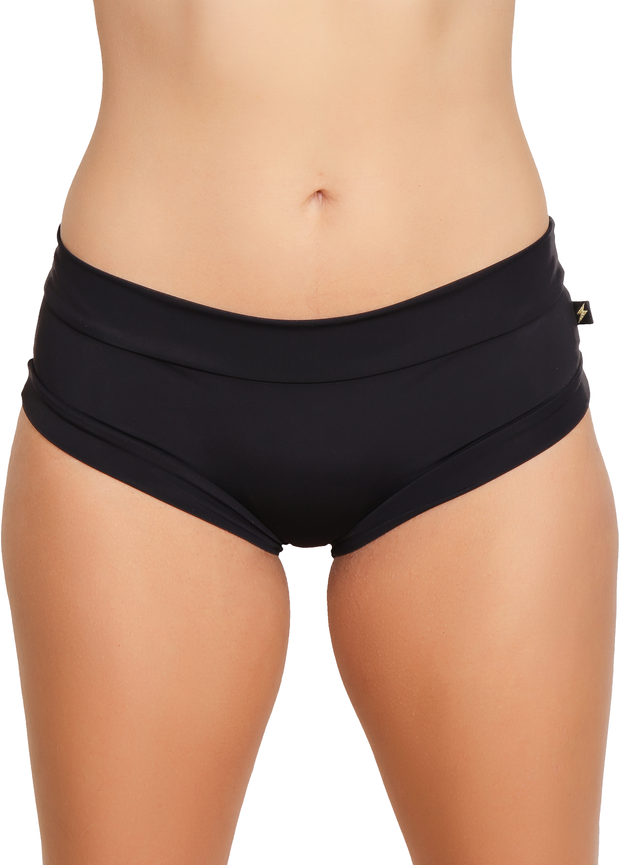Cleo The Hurricane Black Essential Hot Pant Shorts