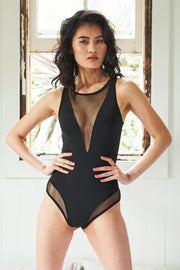 Midnight bodysuit - Black Lunalae