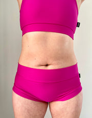 Polehog Perform - Mid Waist Shorts - Pink