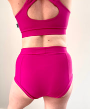 Polehog Perform - High Waist Shorts - Pink